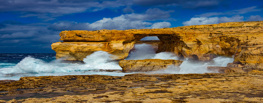 Image of Azure Window in Malta