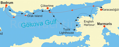 Turkey Bodrum Gulet Cruise