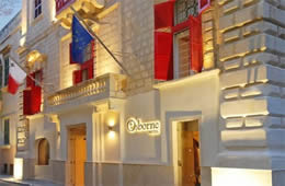 Osborne Hotel - Valletta & Turin City Break